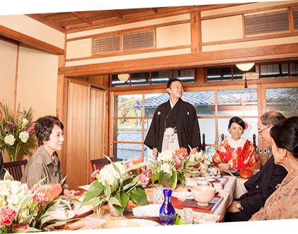 鶴岡八幡宮挙式会食プラン イメージ1