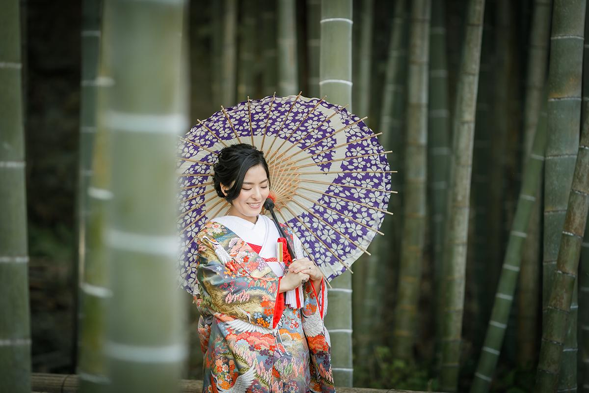 2021.1.22 竹林のお寺でロケーション撮影