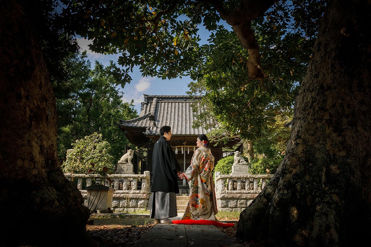 サロン近辺神社