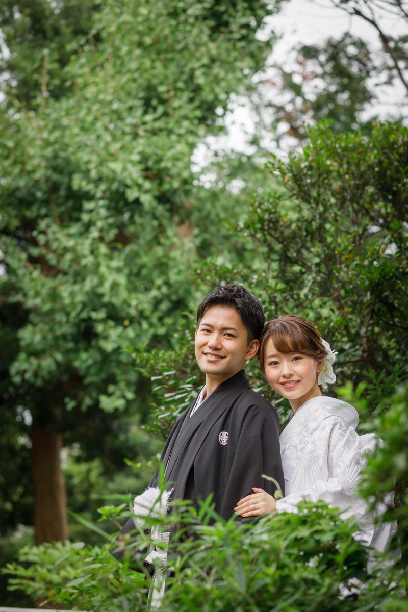 和装 白無垢14 20200929撮影 竹林のお寺