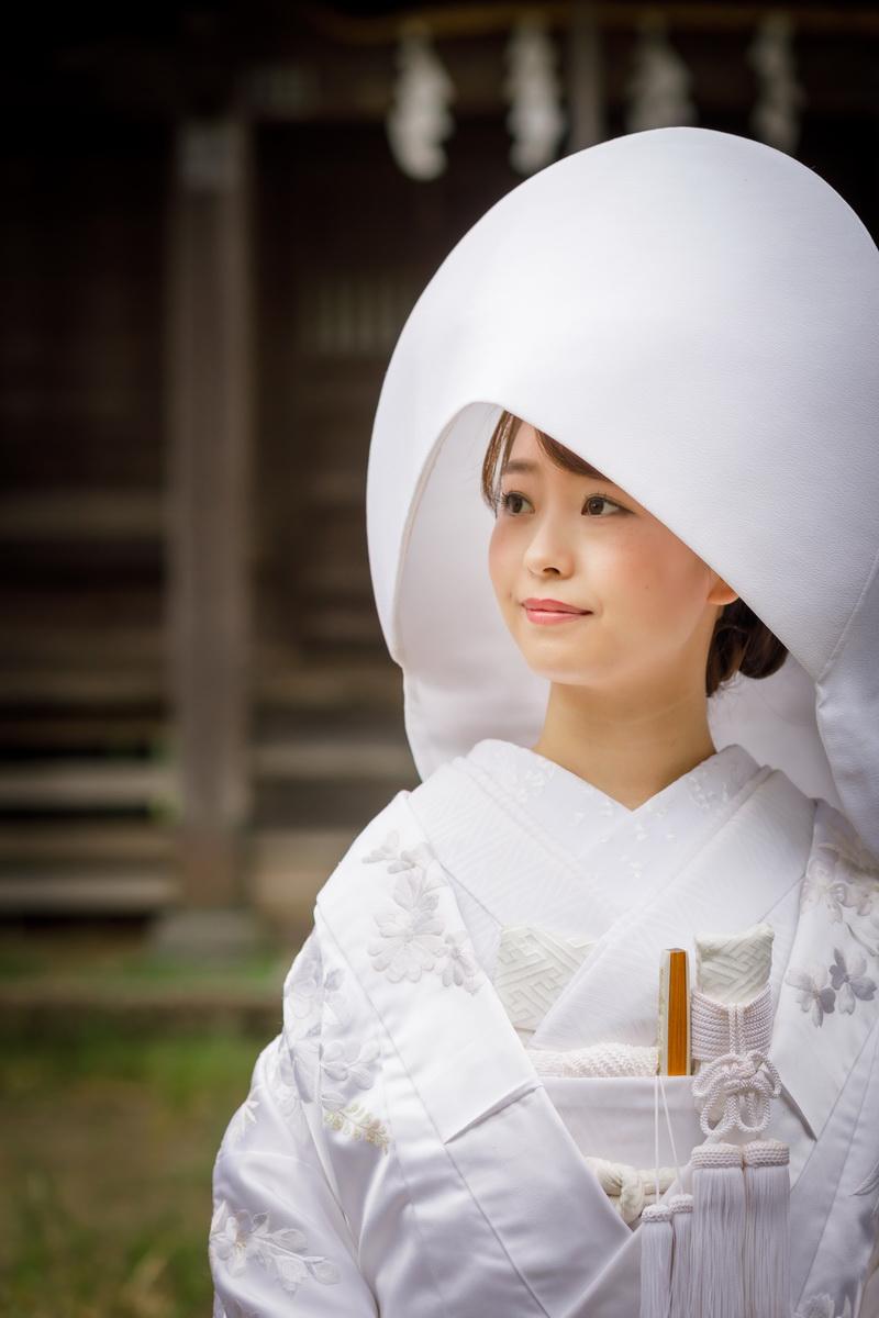 和装 白無垢14 20200929撮影 隣の神社