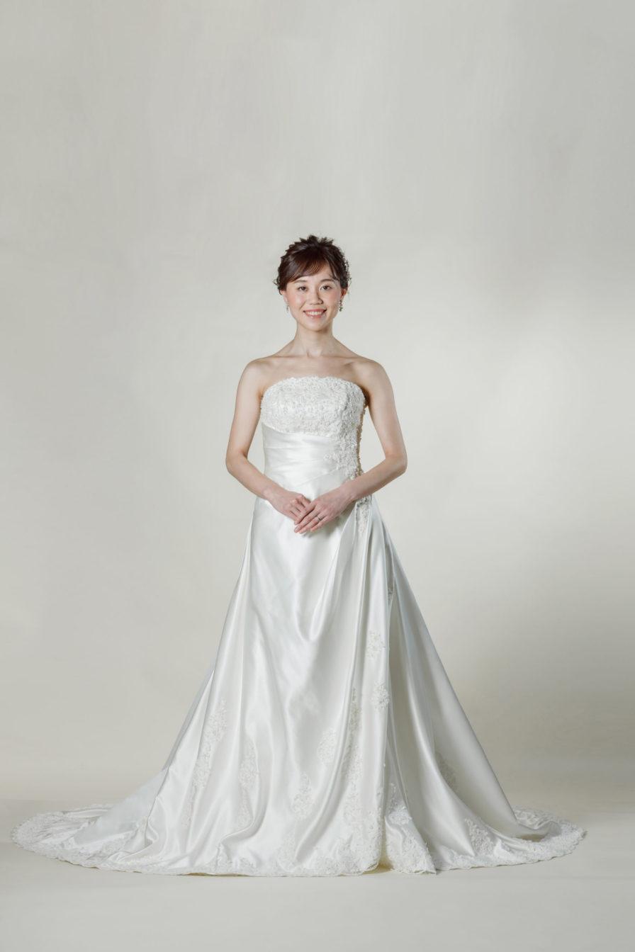 洋装 ウェディング ドレス 前撮り 正面向き画像 W902 スタンダードコレクション