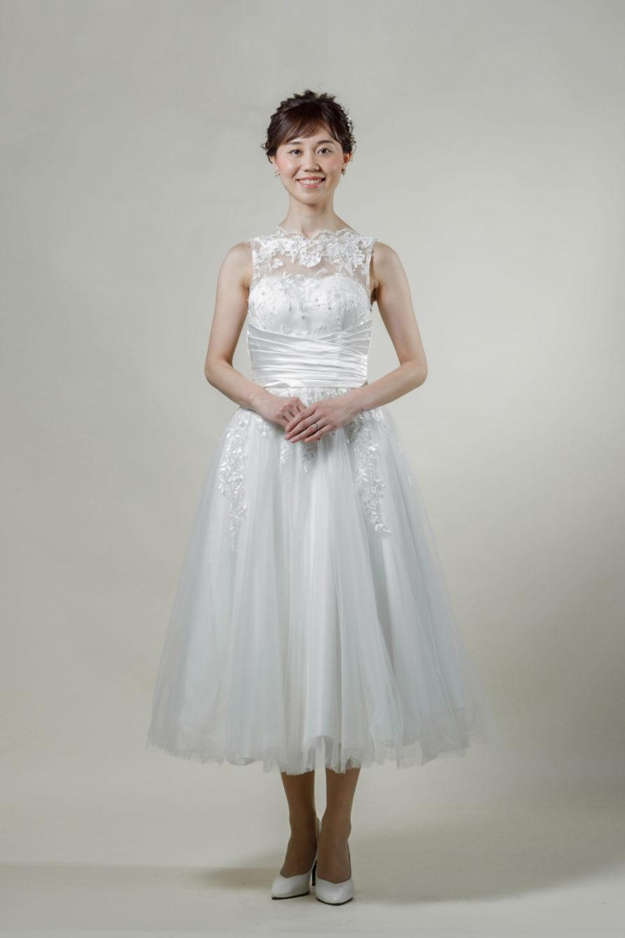 洋装 ウェディング ドレス 前撮り 正面向き画像 W913 スタンダードコレクション