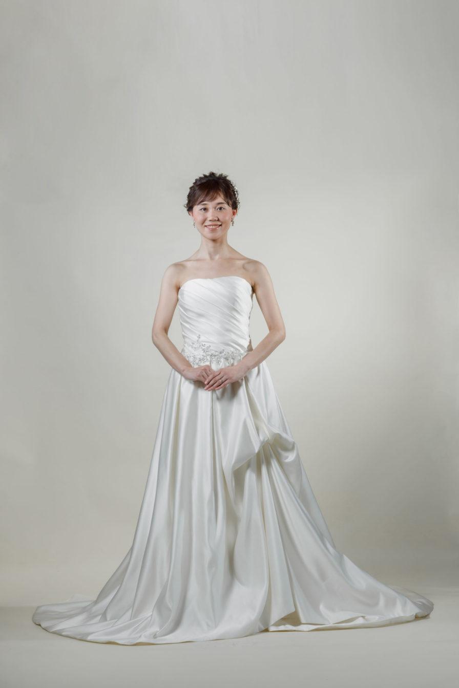 洋装 ウェディング ドレス 前撮り 正面向き画像 W1102 スタンダードコレクション