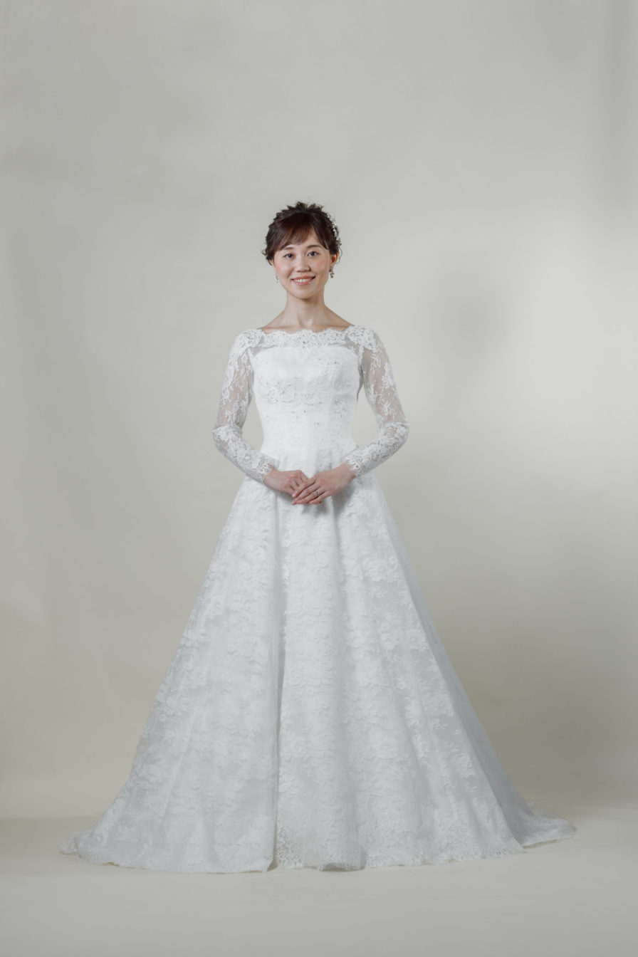 洋装 ウェディング ドレス 前撮り 正面向き画像 CH-5240 ラグジュアリーコレクション