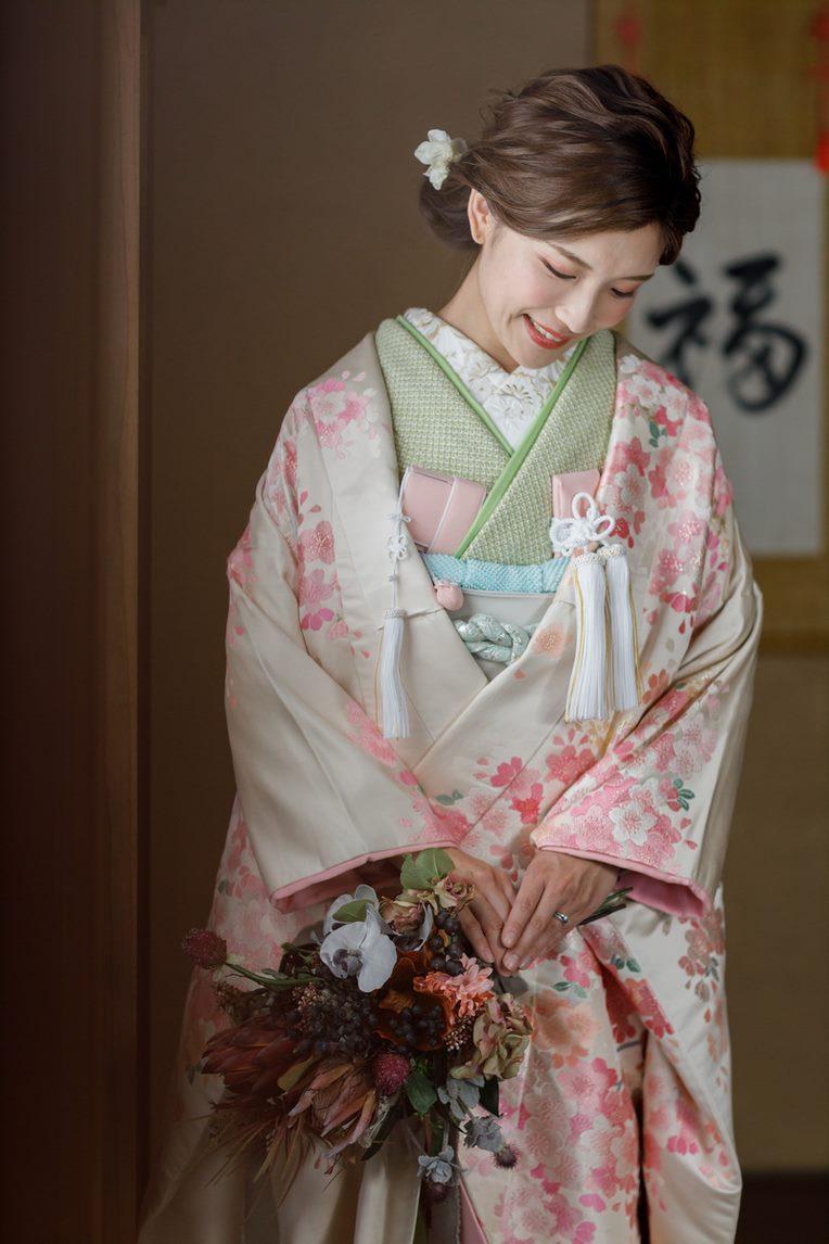 カラーアレンジ 、カラーコーディネート桜01