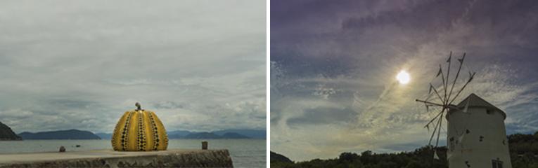 小豆島・直島