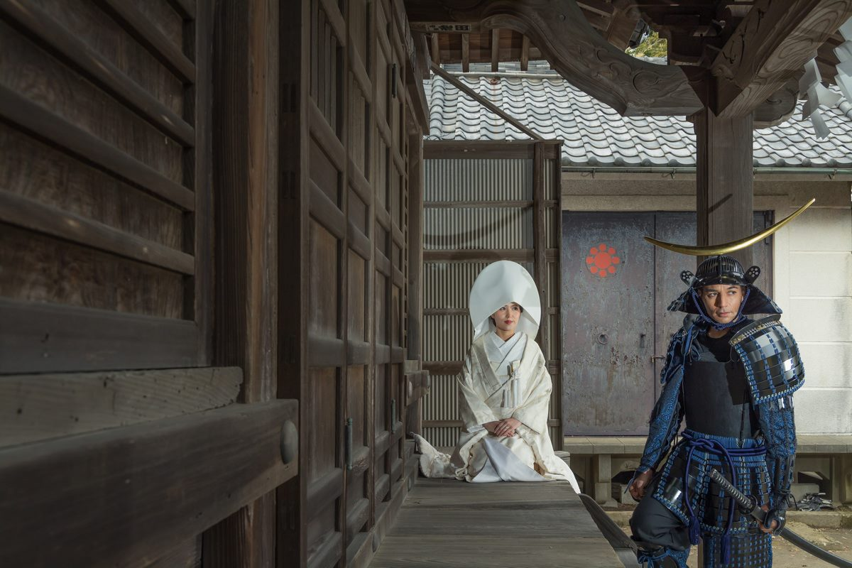 甲冑(ブルー)